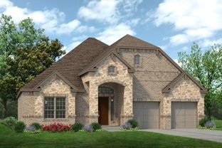 Lexington - Prairie Oaks: Oak Point, Texas - Sandlin Homes