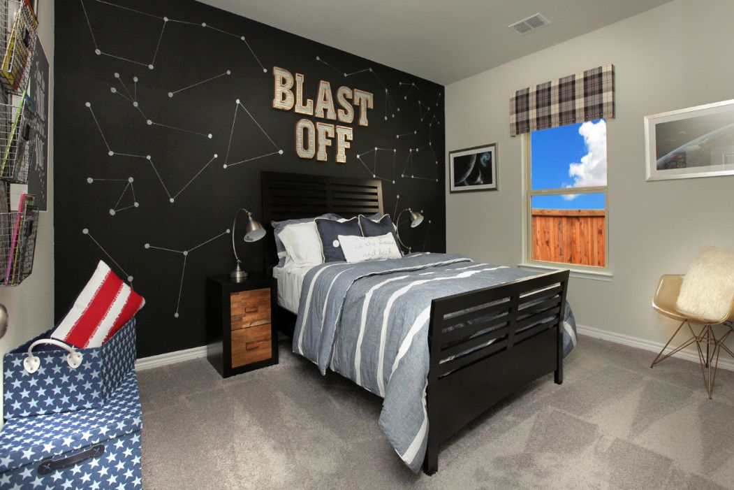 Bedroom featured in the Brookstone II By Sandlin Homes  in Dallas, TX