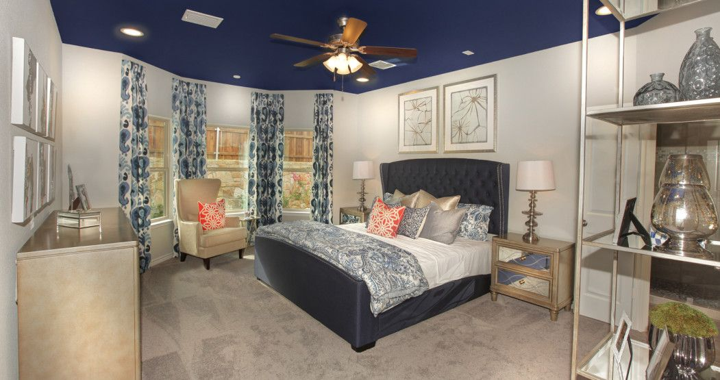 Bedroom featured in the Brookstone II By Sandlin Homes  in Fort Worth, TX