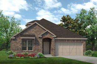 Preston II - Palomino Estates: Benbrook, Texas - Sandlin Homes