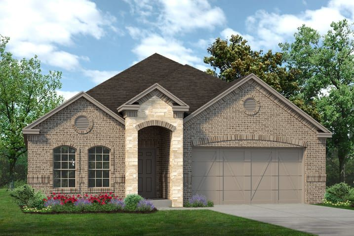 Exterior featured in the Brimstone By Sandlin Homes  in Dallas, TX