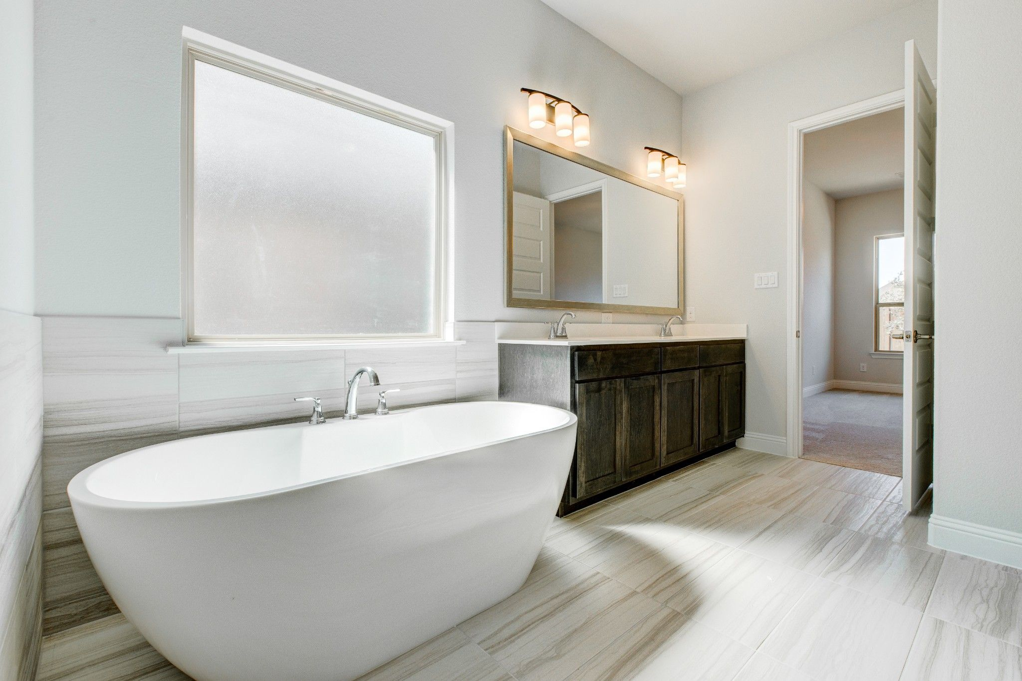Bathroom featured in the Trinity JS By Sandlin Homes  in Fort Worth, TX