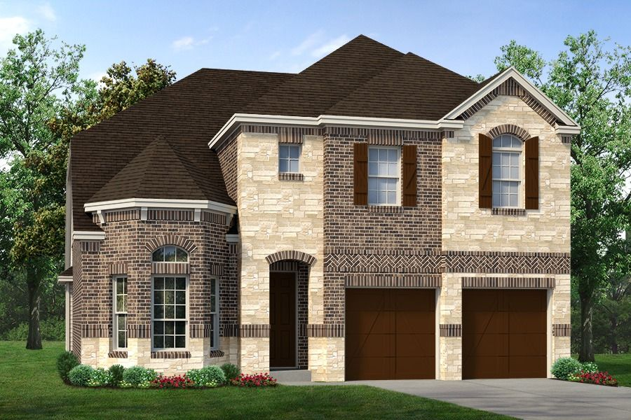 Exterior featured in the Murray By Sandlin Homes  in Dallas, TX