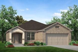 Stockton - Palomino Estates: Benbrook, Texas - Sandlin Homes