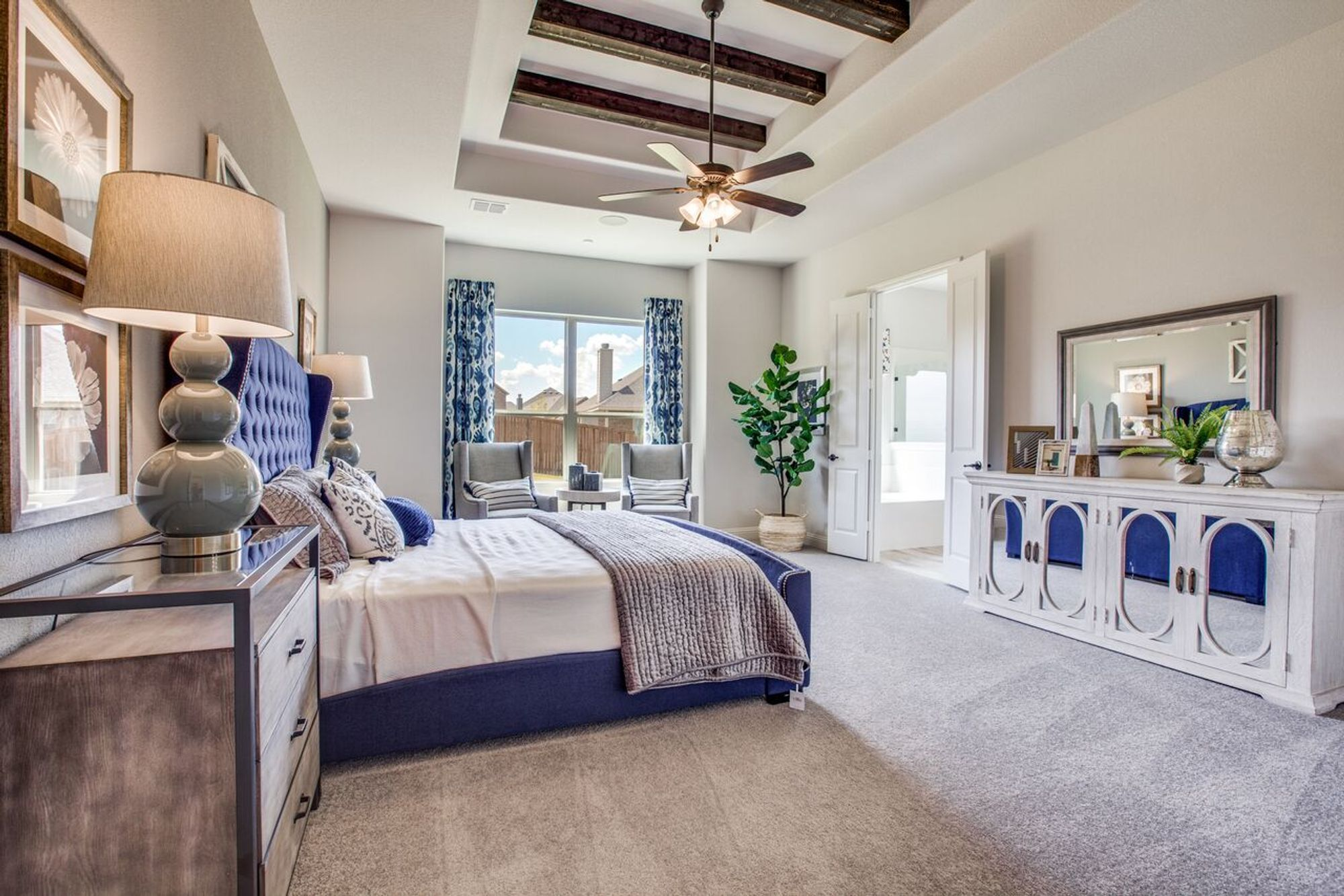 Bedroom featured in The Lexington By Sandlin Homes  in Fort Worth, TX
