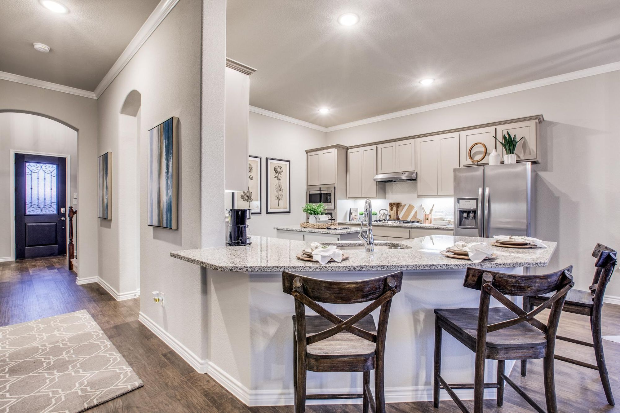Kitchen featured in The Murray By Sandlin Homes  in Fort Worth, TX