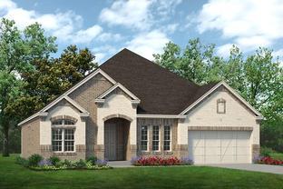 Bellaire - Timberbrook: Justin, Texas - Sandlin Homes