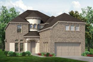 Chessel - Prairie Oaks: Oak Point, Texas - Sandlin Homes