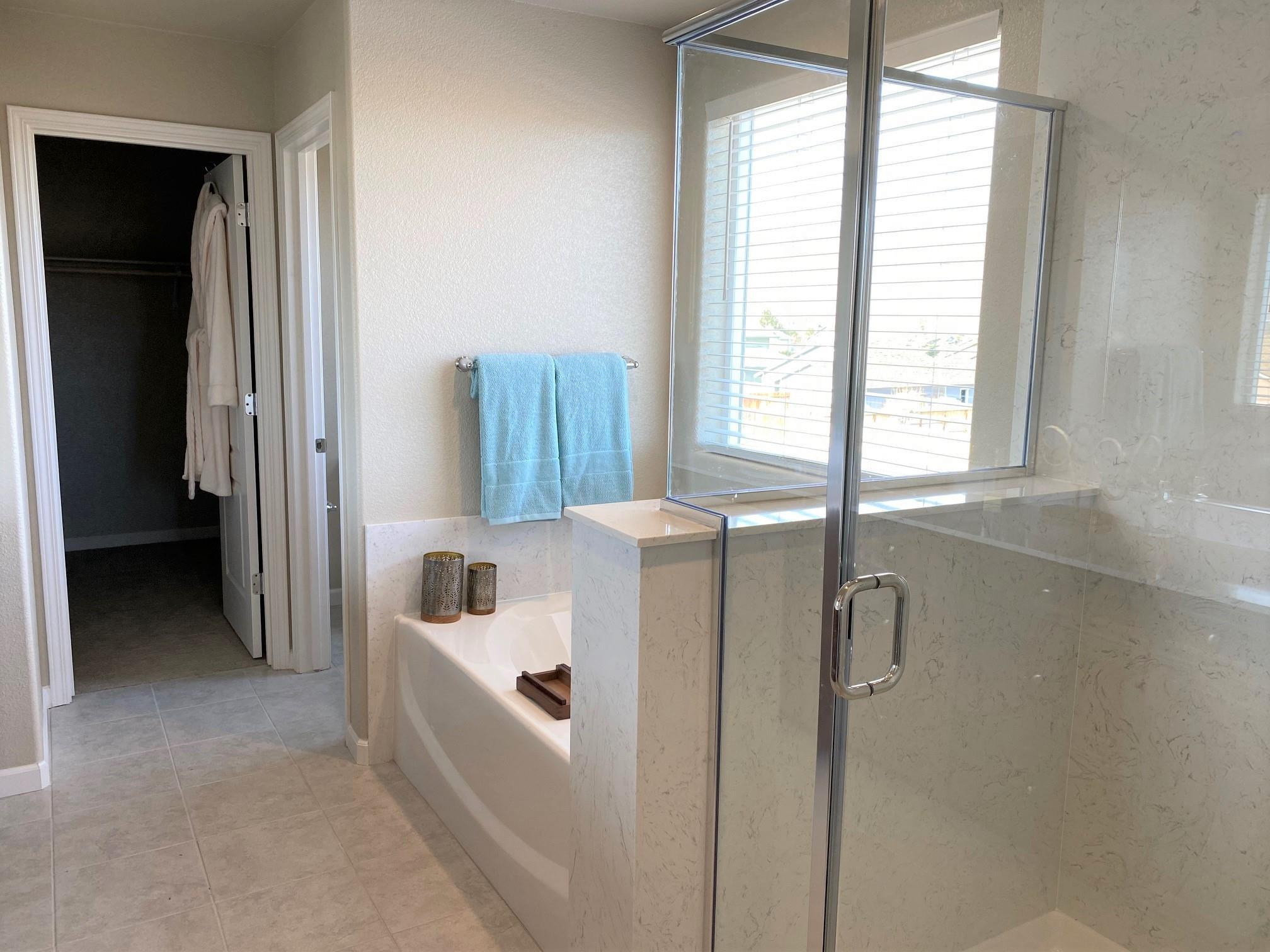Bathroom featured in the Plan 3 By Santa Ynez Valley Construction in Reno, NV