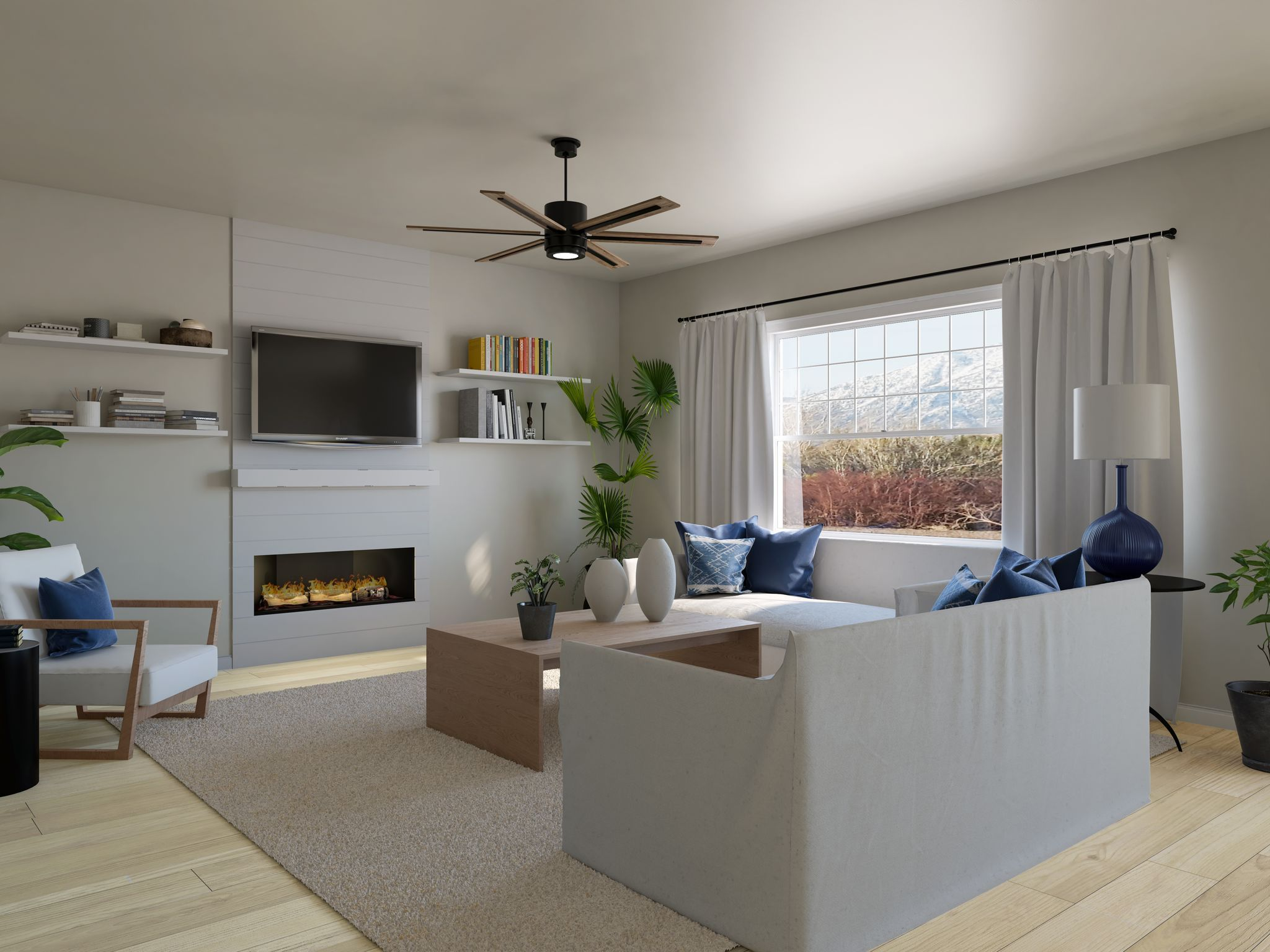 Living Area featured in the Residence 1 By Santa Ynez Valley Construction in Reno, NV