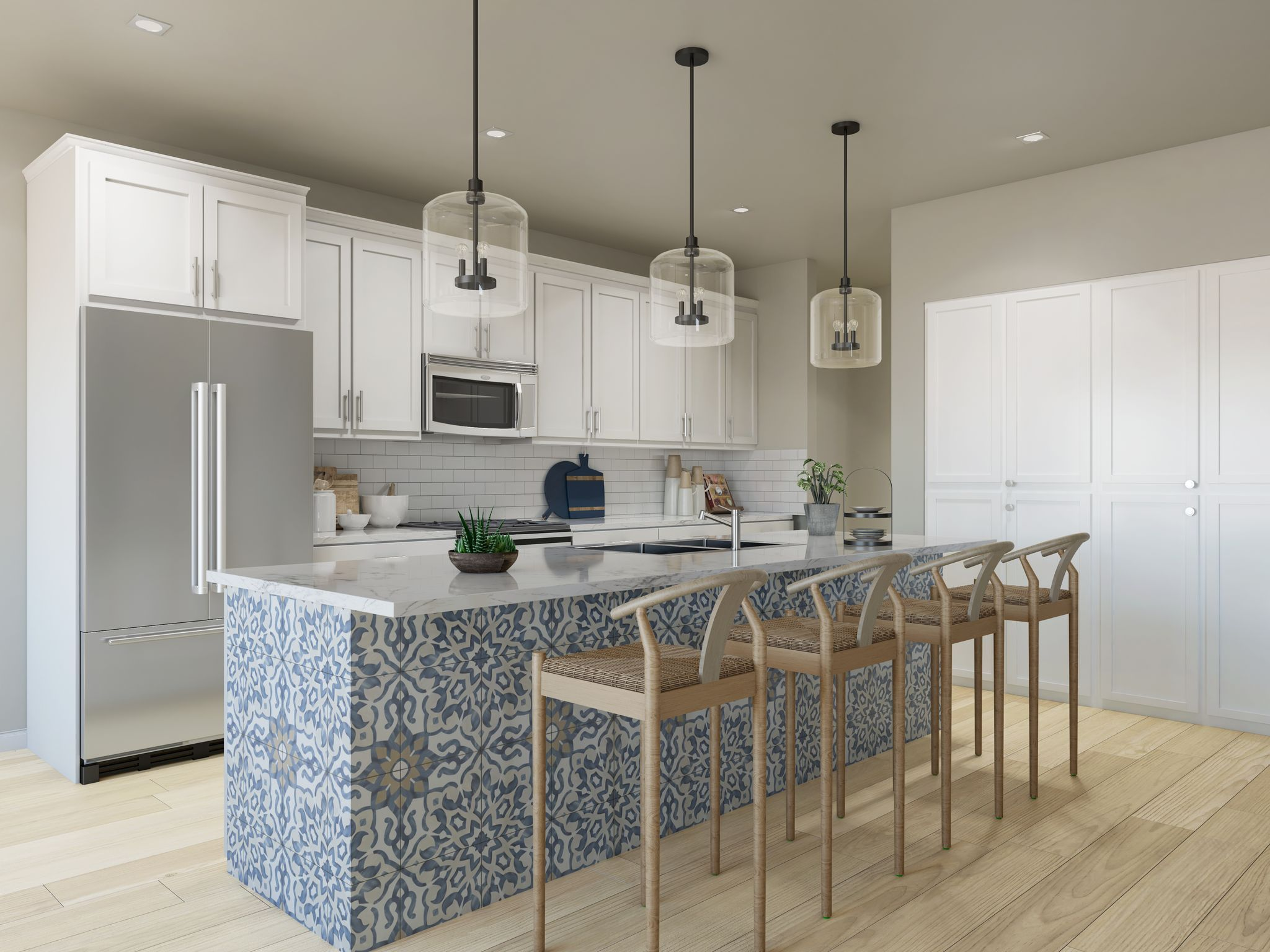 Kitchen featured in the Residence 1 By Santa Ynez Valley Construction in Reno, NV