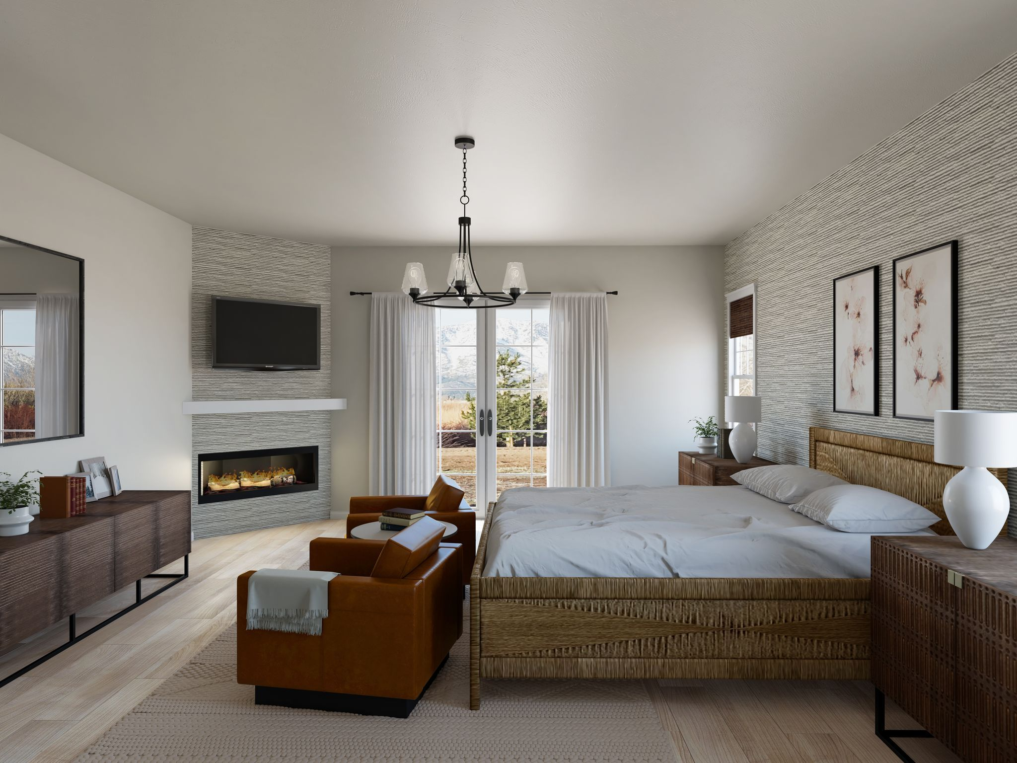 Bedroom featured in the Residence 2 By Santa Ynez Valley Construction in Reno, NV