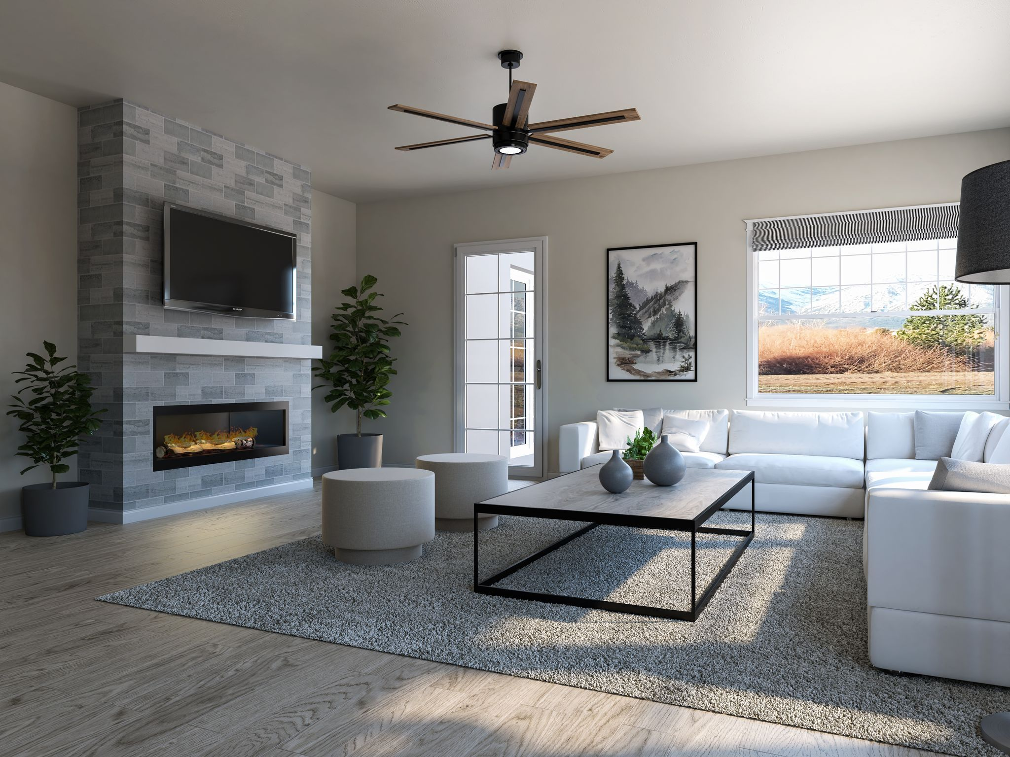 Living Area featured in the Residence 3 By Santa Ynez Valley Construction in Reno, NV