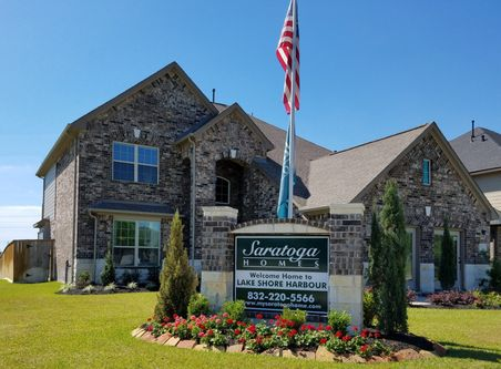 Lake Shore Harbour by Saratoga Homes in Houston Texas
