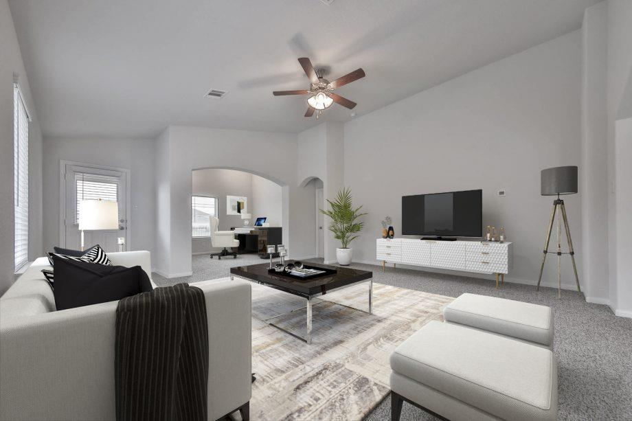 Living Area featured in the Elise C GR By Saratoga in Houston, TX
