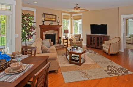 Living Area featured in the Model A By Sasser Construction LC  in Norfolk-Newport News, VA