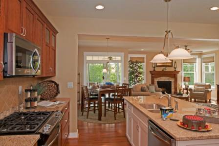 Kitchen featured in the Model A By Sasser Construction LC  in Norfolk-Newport News, VA