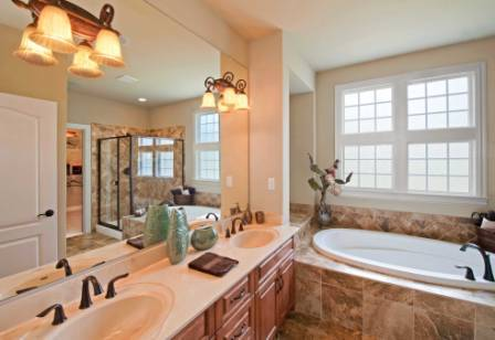 Bathroom featured in the Model A By Sasser Construction LC  in Norfolk-Newport News, VA