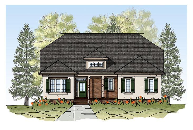 Exterior featured in the Model G By Sasser Construction LC  in Norfolk-Newport News, VA