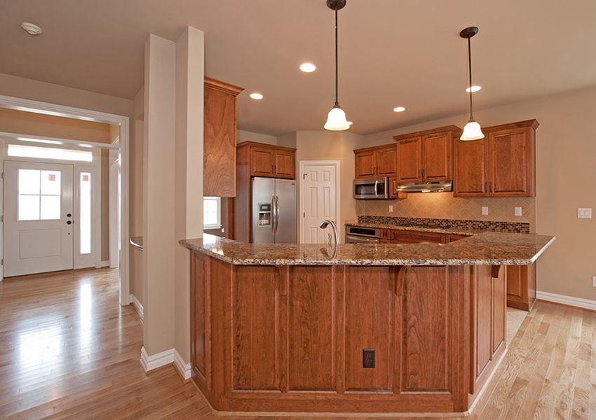 Kitchen featured in the Model G By Sasser Construction LC  in Norfolk-Newport News, VA