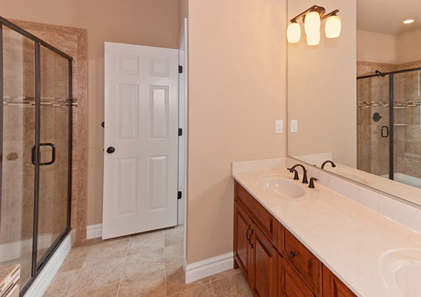 Bathroom featured in the Model G By Sasser Construction LC  in Norfolk-Newport News, VA
