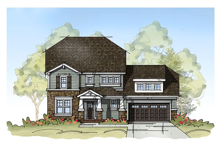 Exterior featured in the Model I By Sasser Construction LC  in Norfolk-Newport News, VA