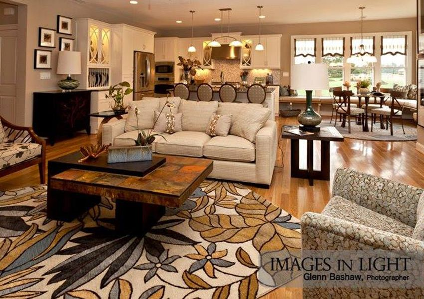 Living Area featured in the Model I By Sasser Construction LC  in Norfolk-Newport News, VA