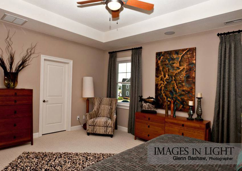 Bedroom featured in the Model I By Sasser Construction LC  in Norfolk-Newport News, VA