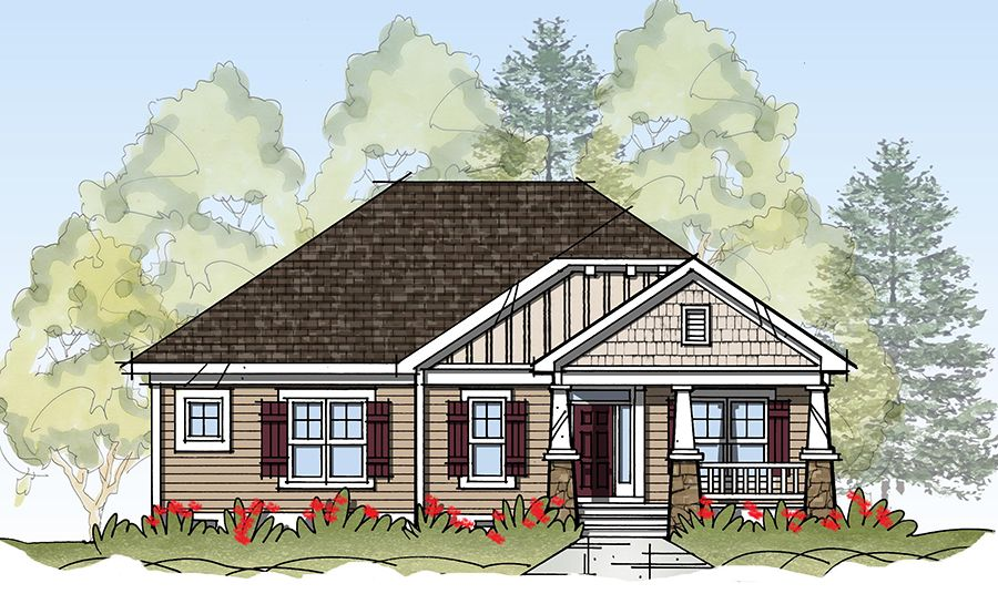 Exterior featured in the Model M By Sasser Construction LC  in Norfolk-Newport News, VA