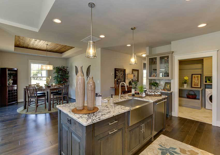 Kitchen featured in the Model M By Sasser Construction LC  in Norfolk-Newport News, VA