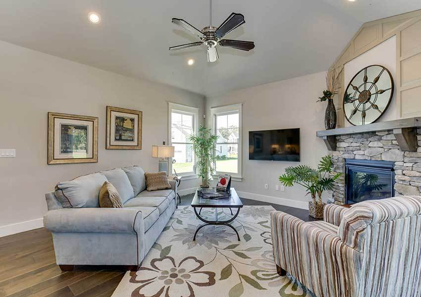 Living Area featured in the Model M By Sasser Construction LC  in Norfolk-Newport News, VA