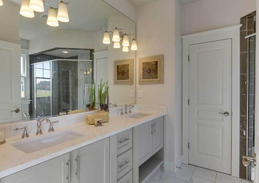 Bathroom featured in the Model M By Sasser Construction LC  in Norfolk-Newport News, VA