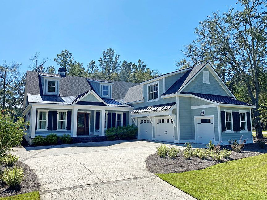 Exterior featured in The Santee II By New Home Builder Partners in Savannah, GA