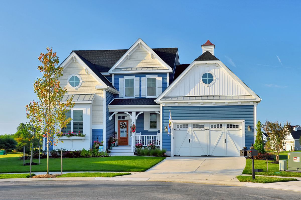 Exterior featured in The Cassidy By Schell Brothers in Sussex, DE