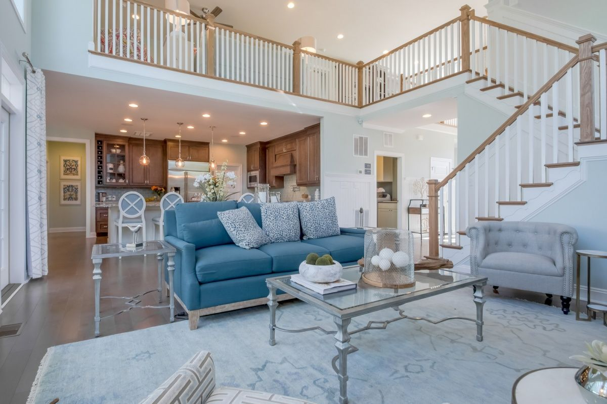 Living Area featured in The Shearwater By Schell Brothers in Richmond-Petersburg, VA