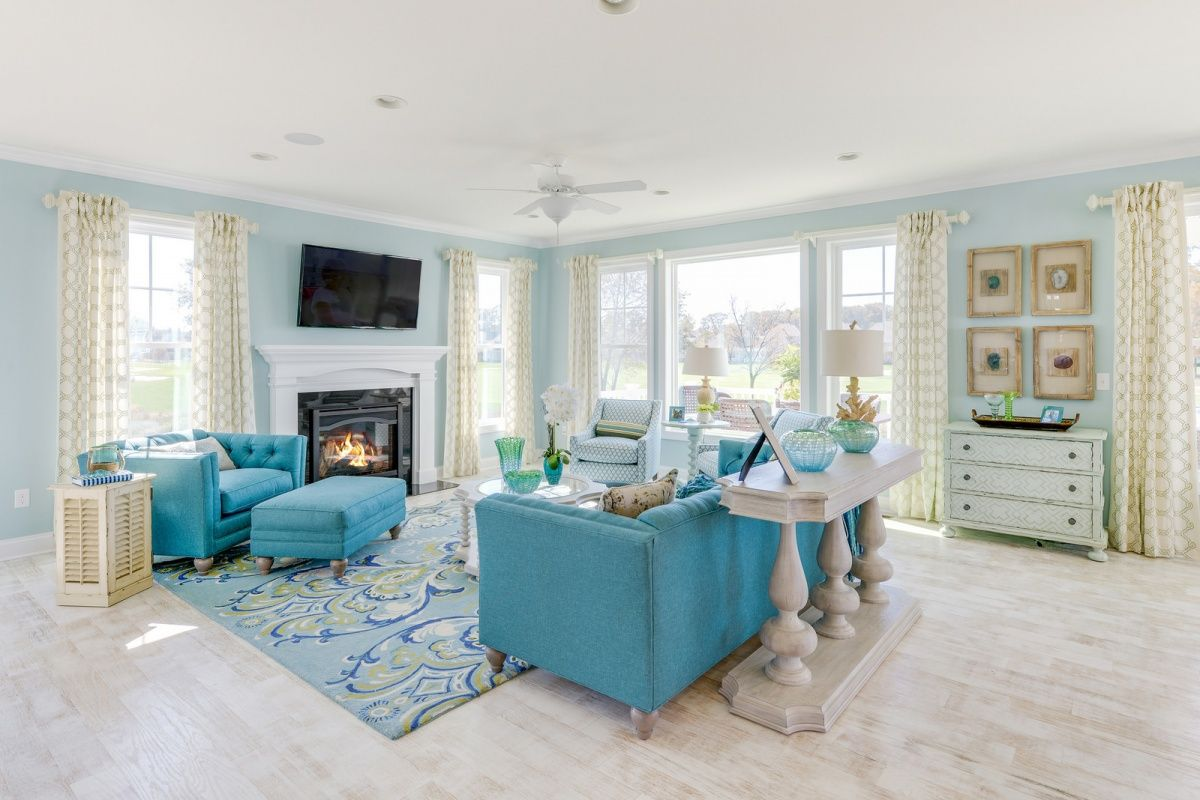 Living Area featured in The Catalina By Schell Brothers in Sussex, DE