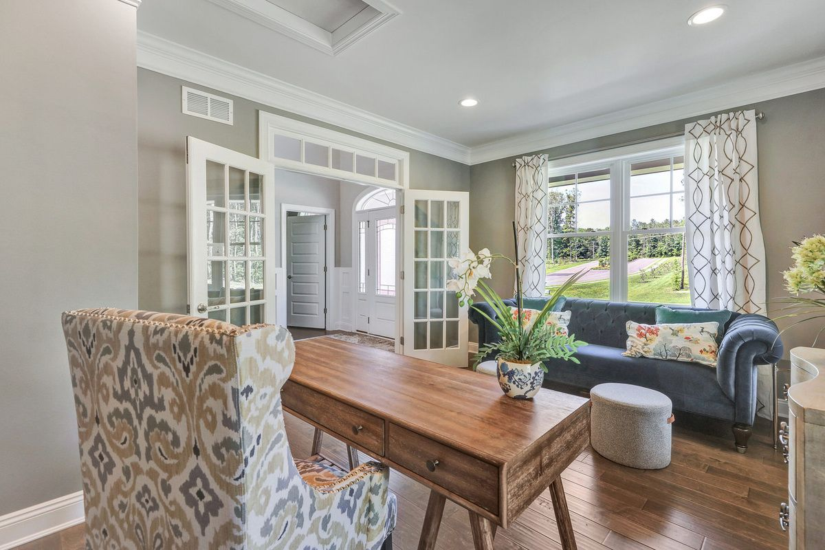 Living Area featured in The Kingfisher By Schell Brothers in Richmond-Petersburg, VA