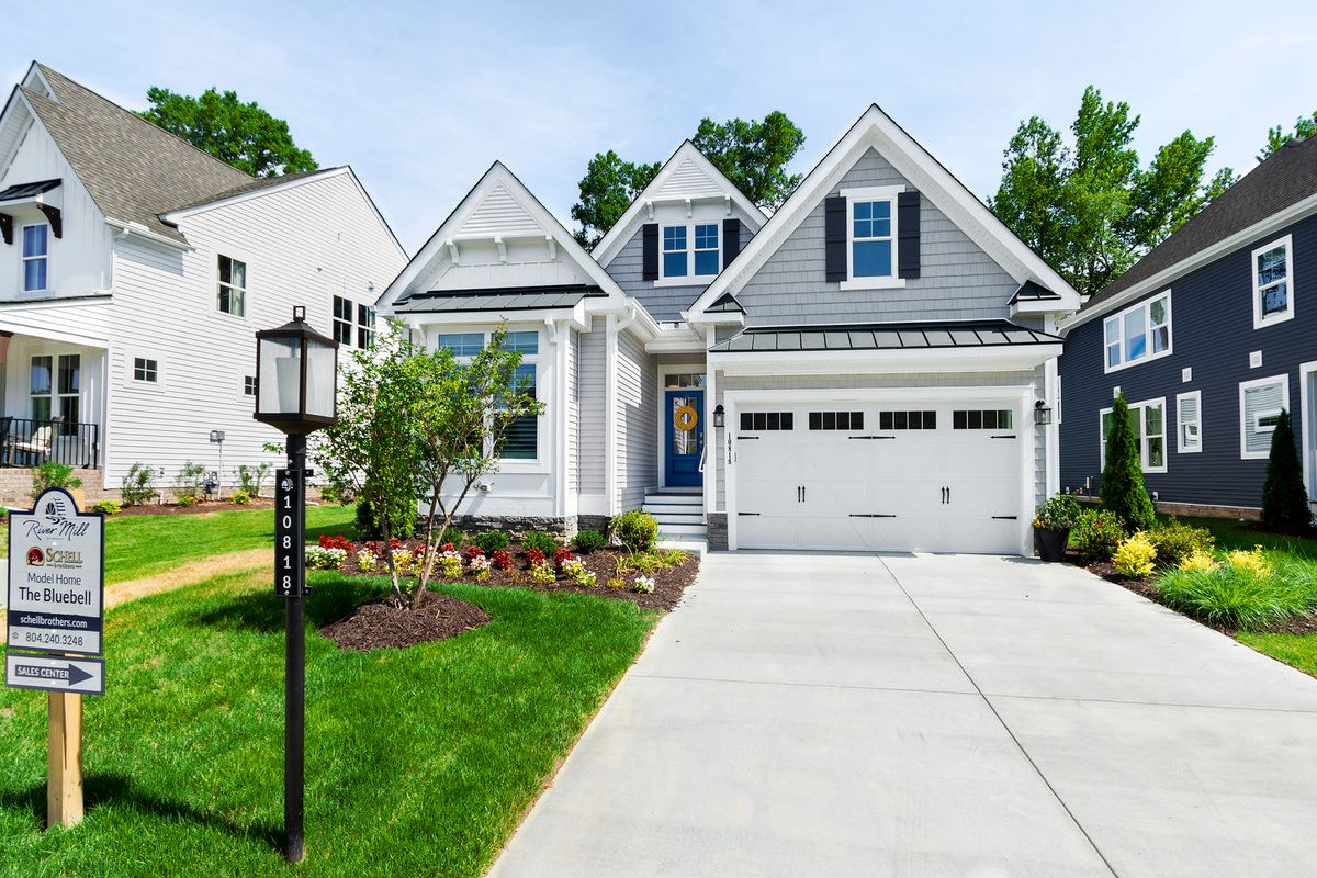 Exterior featured in The Bluebell By Schell Brothers in Richmond-Petersburg, VA