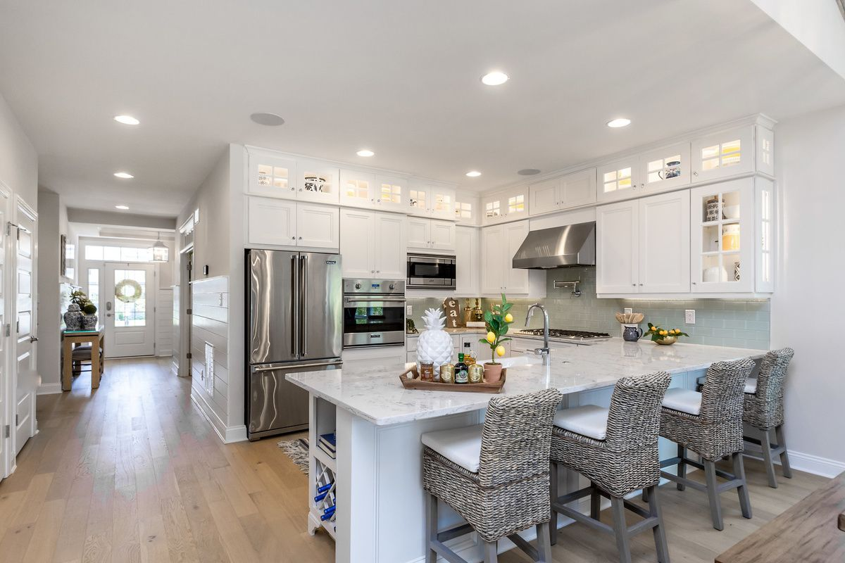 Kitchen featured in The Bluebell By Schell Brothers in Richmond-Petersburg, VA