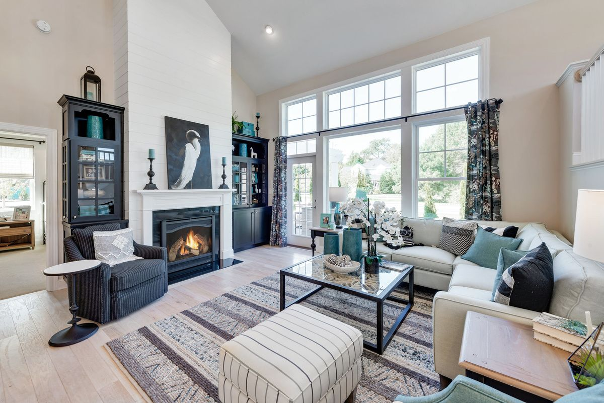 Living Area featured in The Lilac By Schell Brothers in Sussex, DE