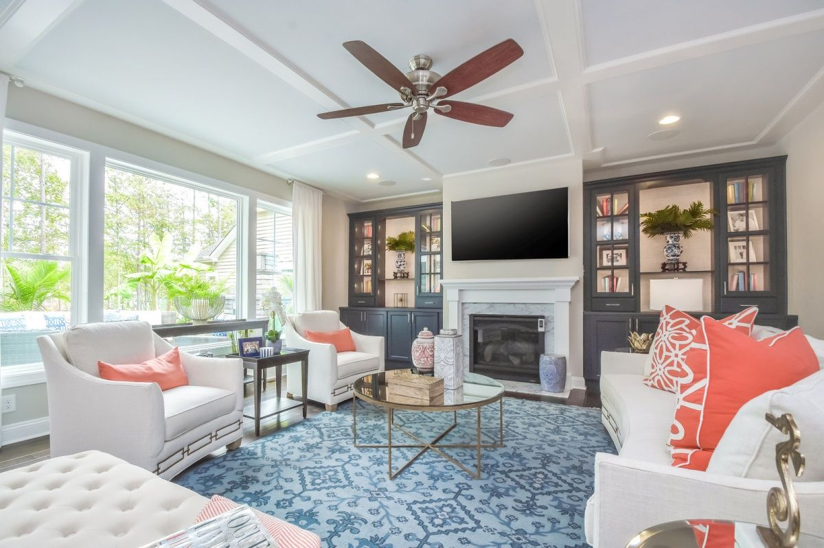 Living Area featured in The Brady By Schell Brothers in Richmond-Petersburg, VA