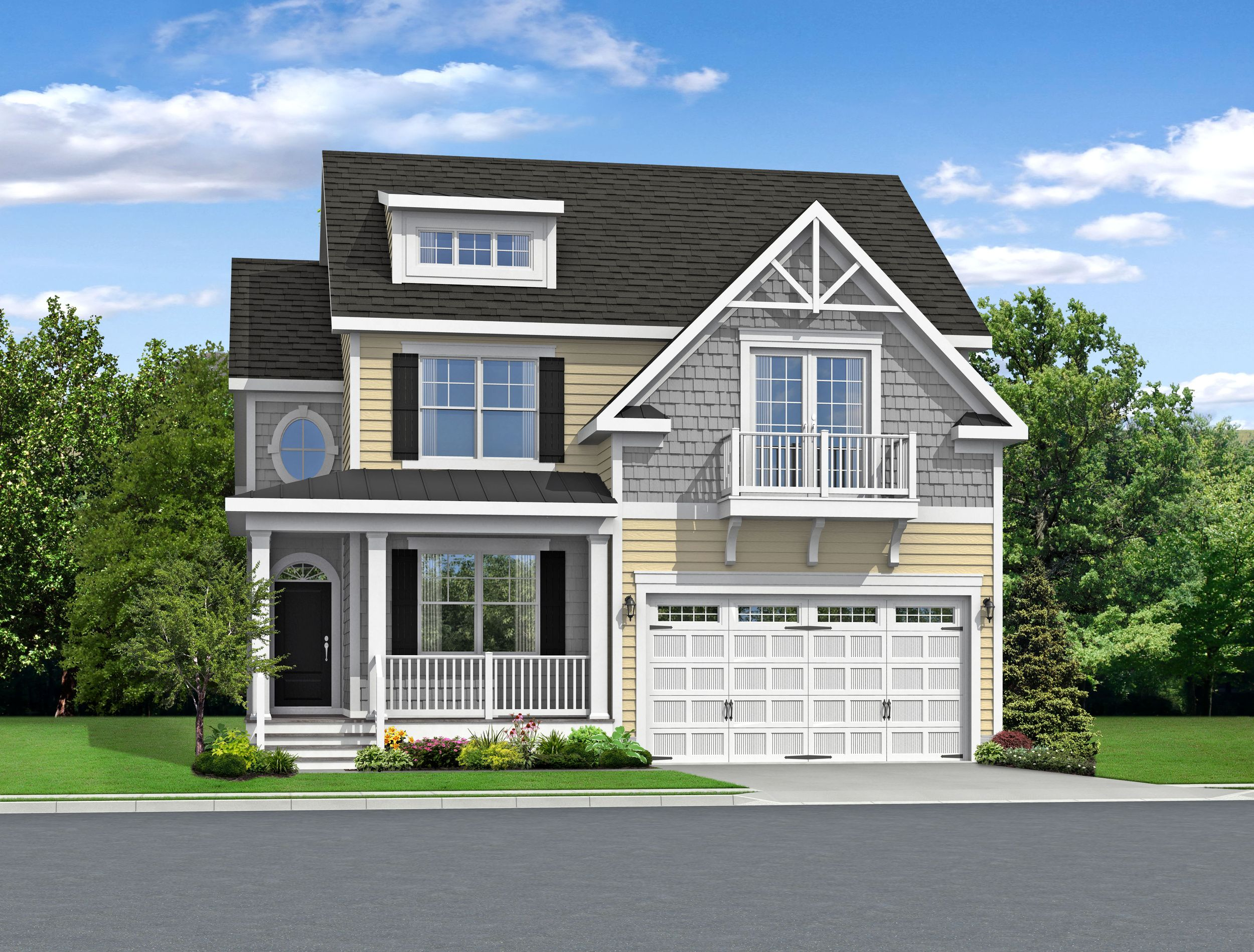 Exterior featured in The Iris By Schell Brothers in Sussex, DE
