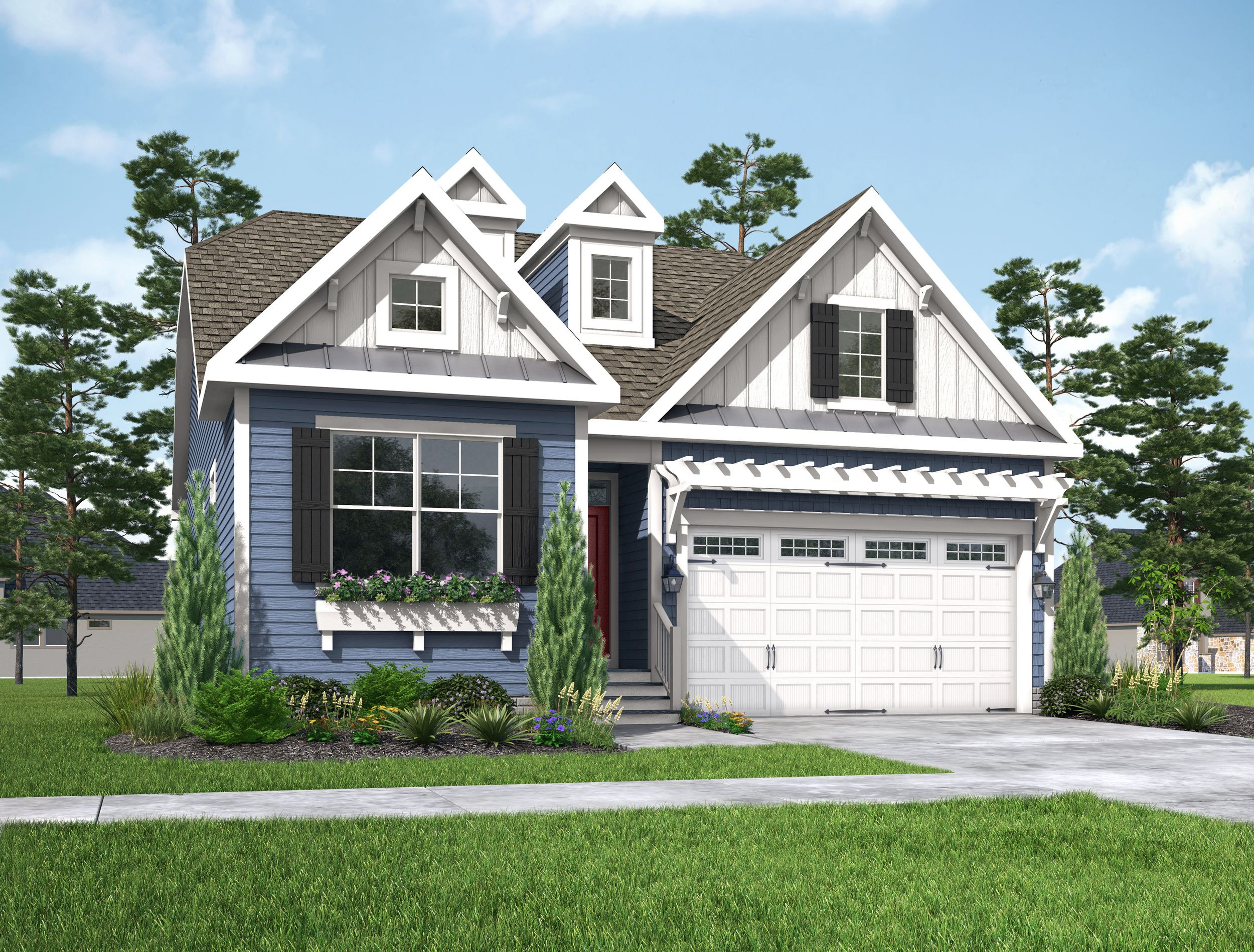 Exterior featured in The Heather By Schell Brothers in Richmond-Petersburg, VA