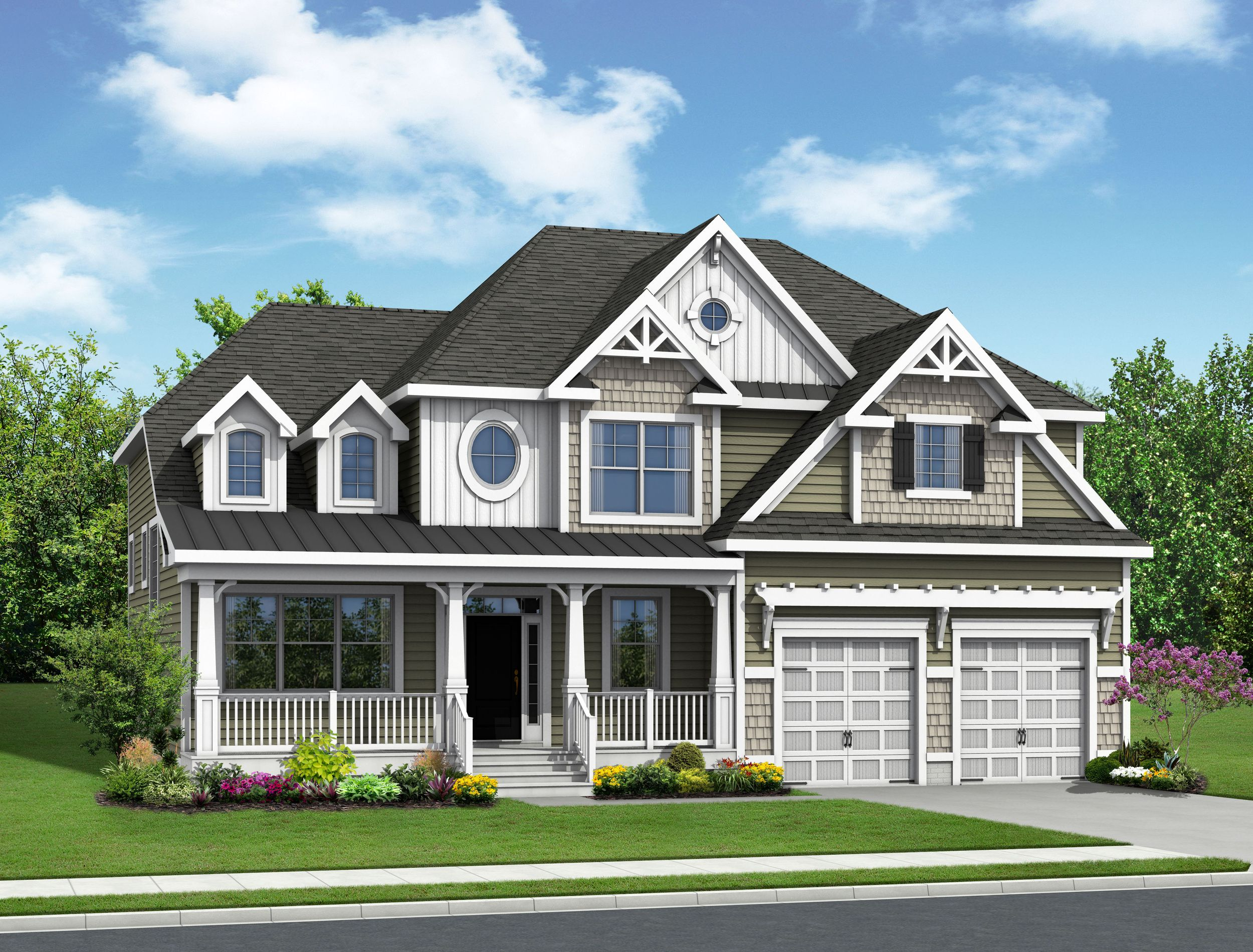 Exterior featured in The Shearwater By Schell Brothers in Sussex, DE