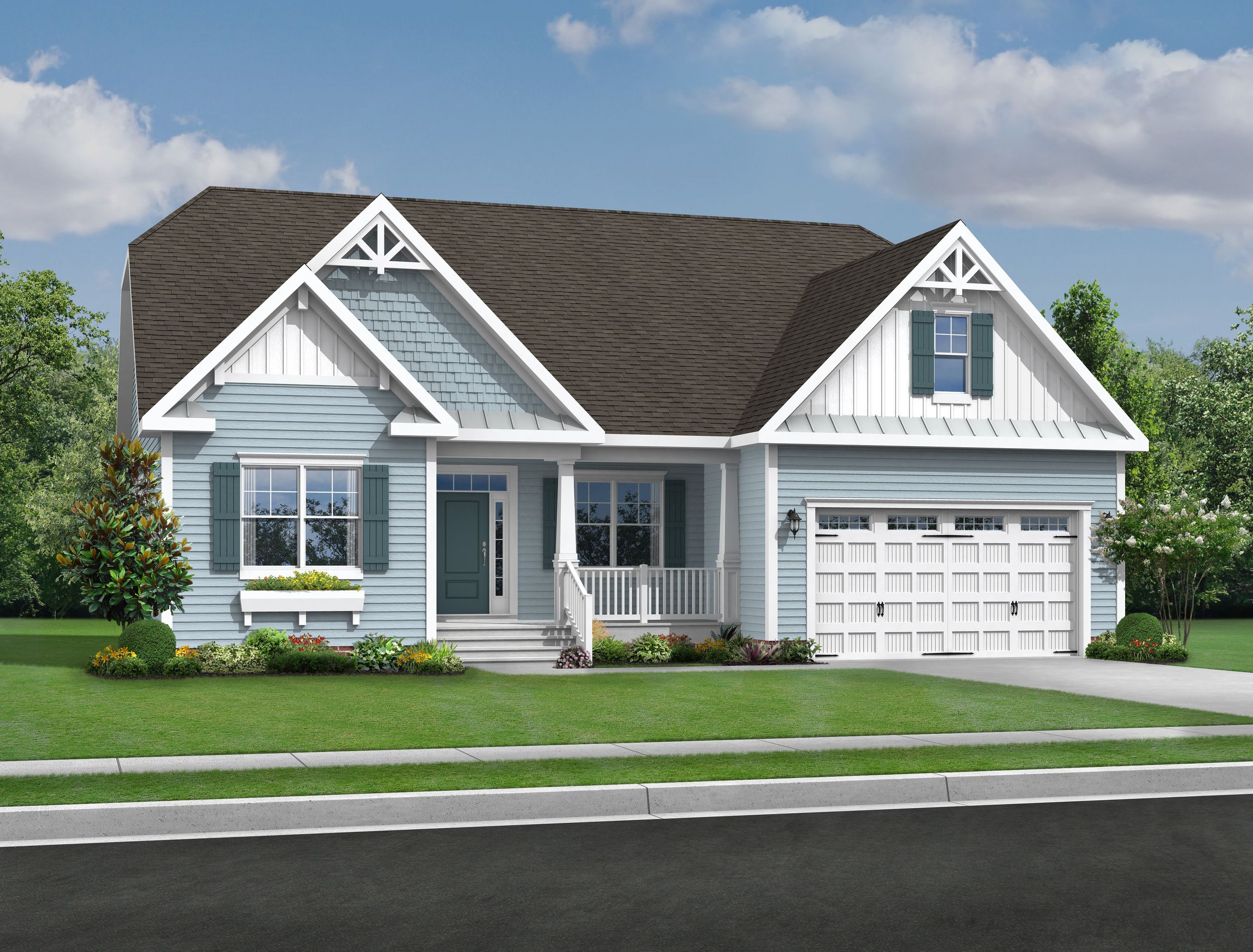 Exterior featured in The Whimbrel By Schell Brothers in Sussex, DE