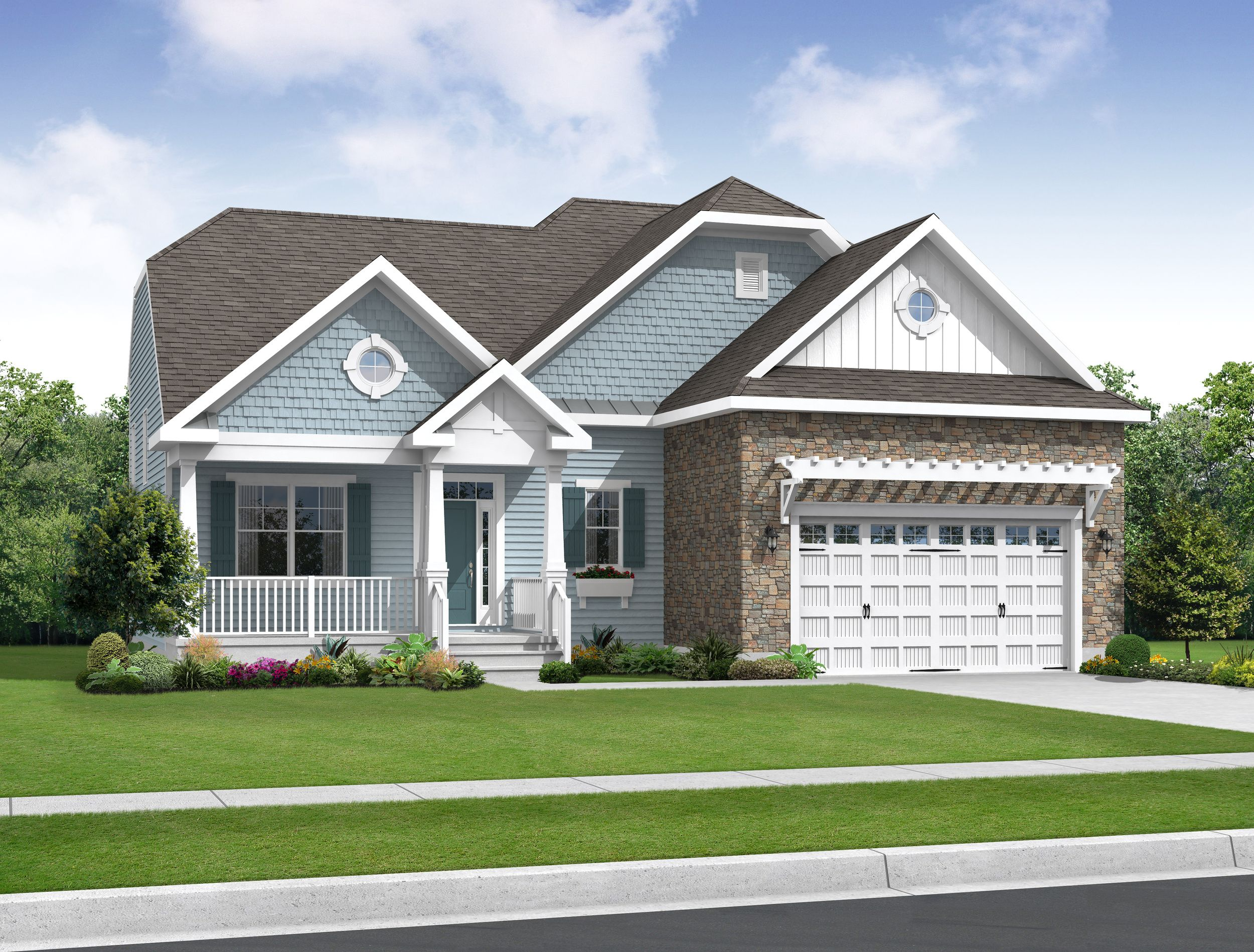 Exterior featured in the Bella By Schell Brothers in Sussex, DE