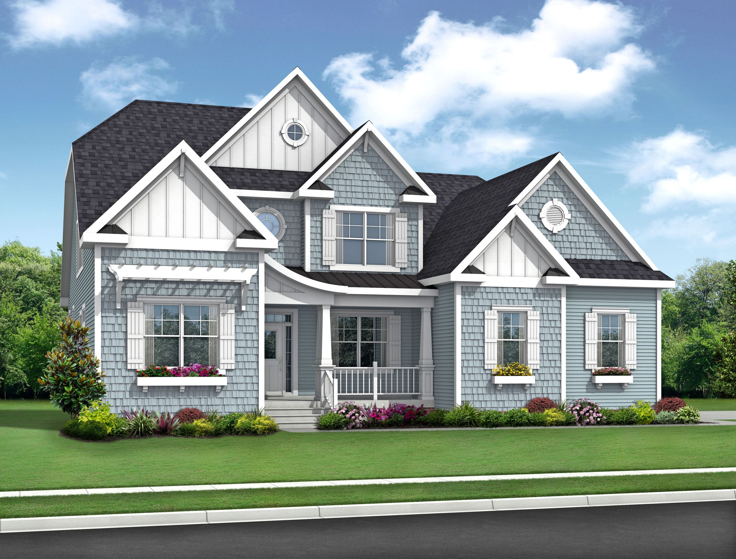 Exterior featured in The Whimbrel By Schell Brothers in Richmond-Petersburg, VA