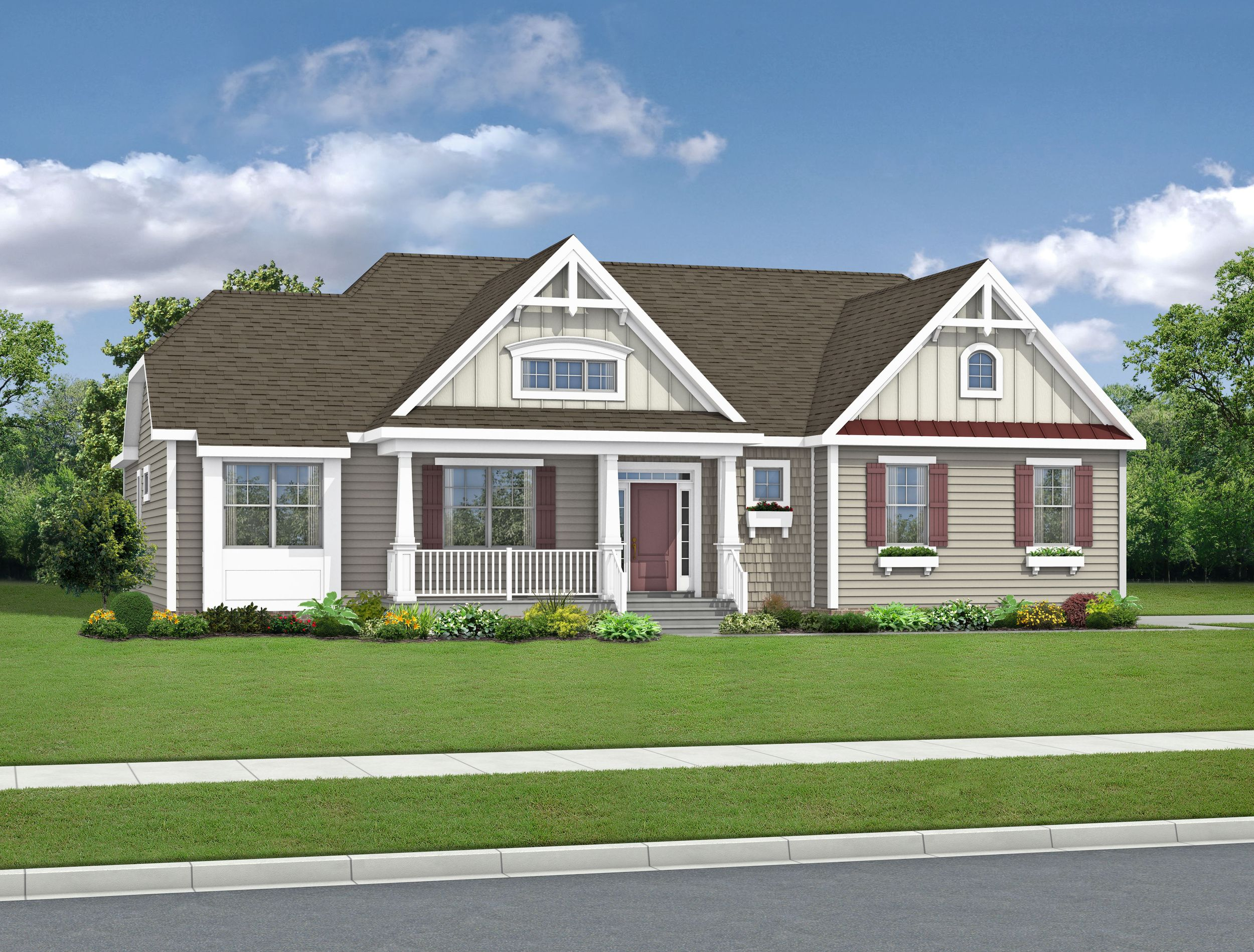 Exterior featured in The Mayberry By Schell Brothers in Richmond-Petersburg, VA