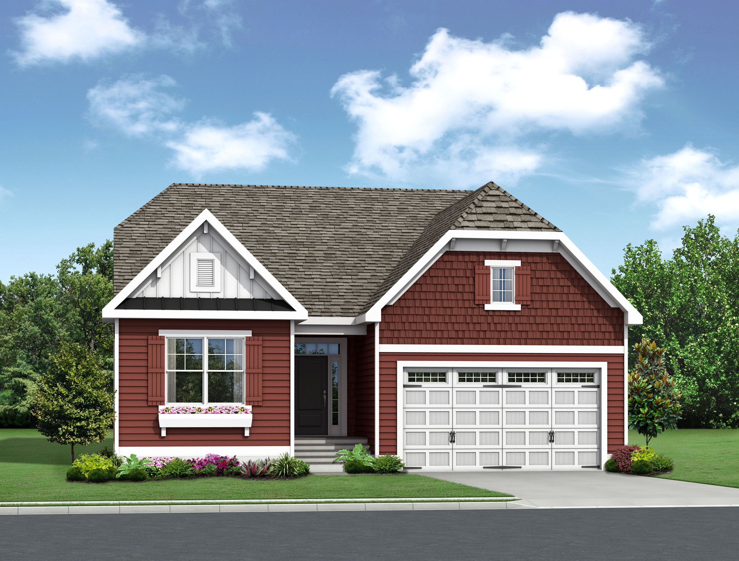 Exterior featured in The Montauk By Schell Brothers in Richmond-Petersburg, VA
