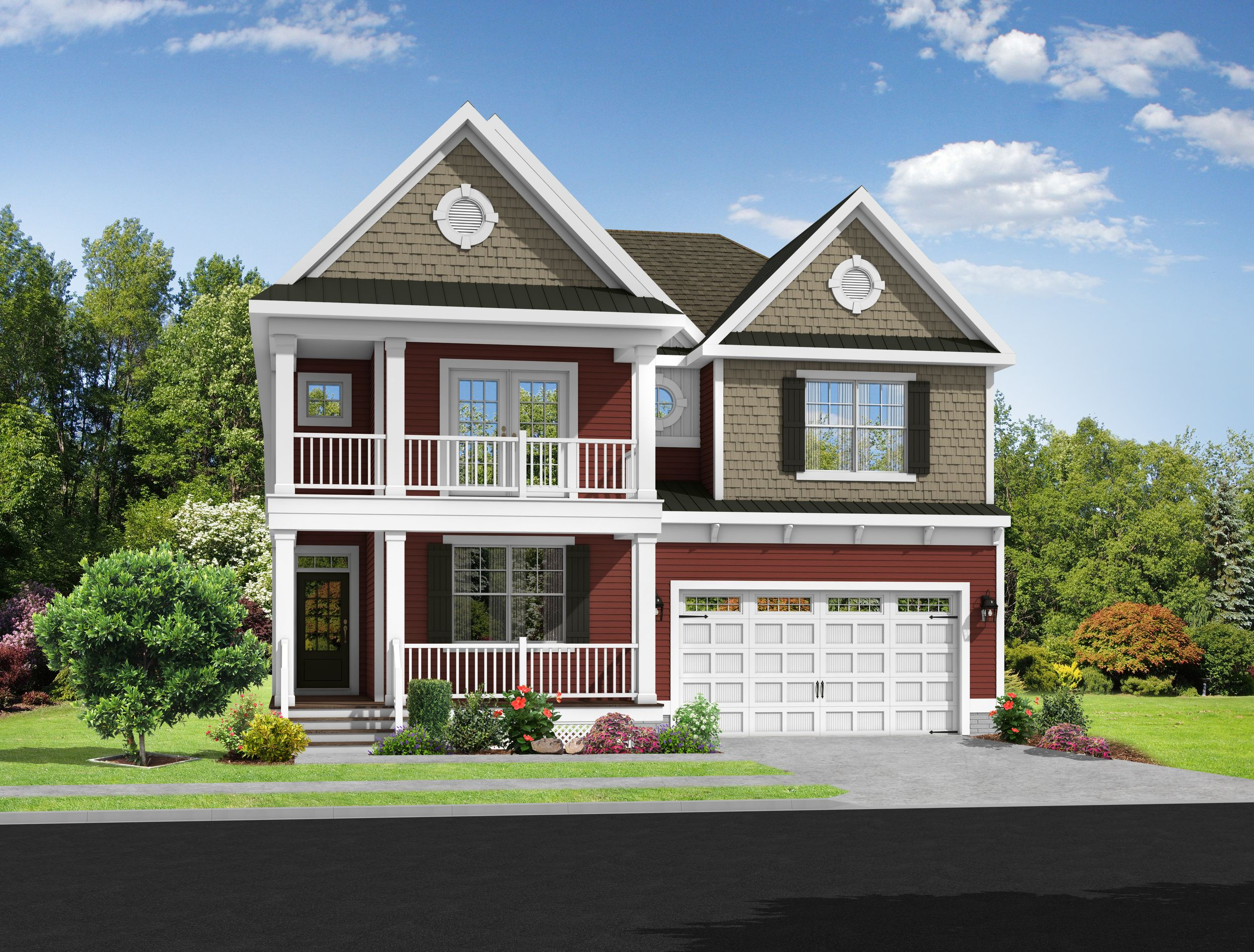 Exterior featured in The Southport By Schell Brothers in Richmond-Petersburg, VA